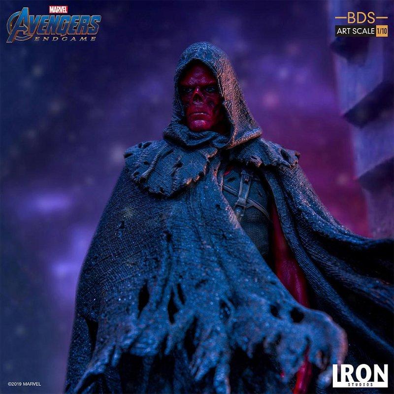 IRON STUDIOS : Avengers: Endgame – Red Skull Battle Diorama Statue Iron-s29