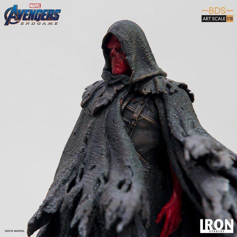 IRON STUDIOS : Avengers: Endgame – Red Skull Battle Diorama Statue Iron-s34