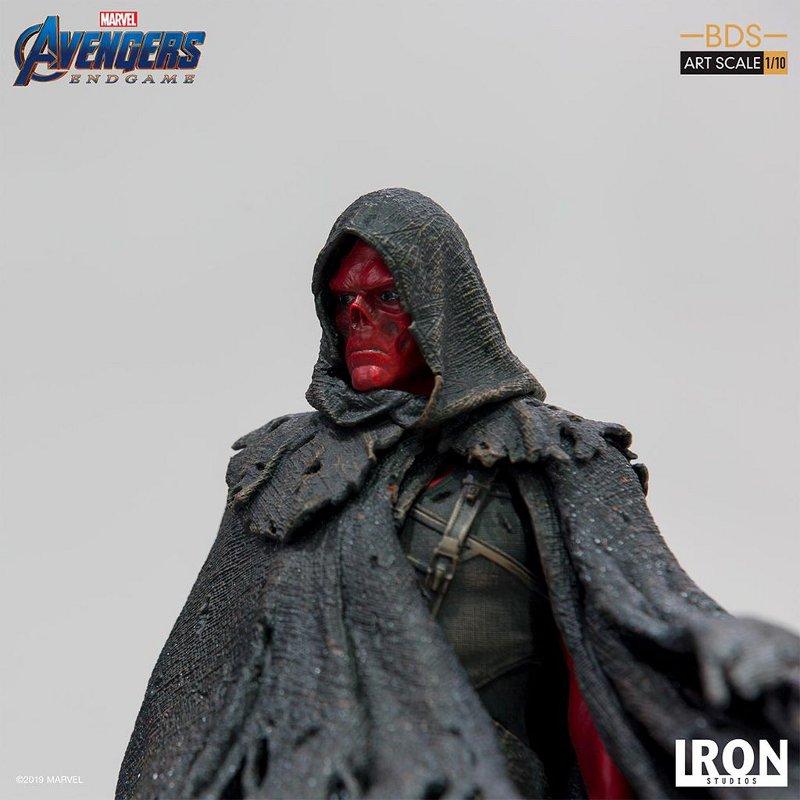 IRON STUDIOS : Avengers: Endgame – Red Skull Battle Diorama Statue Iron-s38
