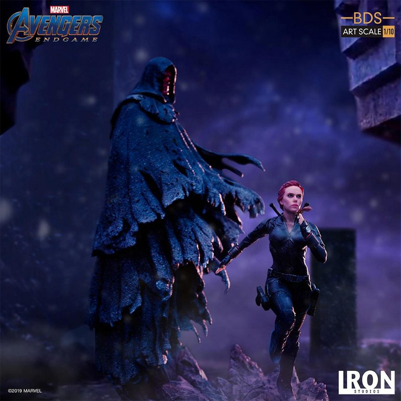 IRON STUDIOS : Avengers: Endgame – Red Skull Battle Diorama Statue Iron-s42