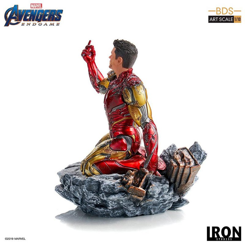 "IRON STUDIOS : Avengers: Endgame – ""I Am Iron Man"" 1/10 Scale Battle Diorama Statue Iron-s67"