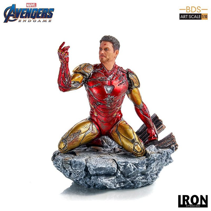 "IRON STUDIOS : Avengers: Endgame – ""I Am Iron Man"" 1/10 Scale Battle Diorama Statue Iron-s68"