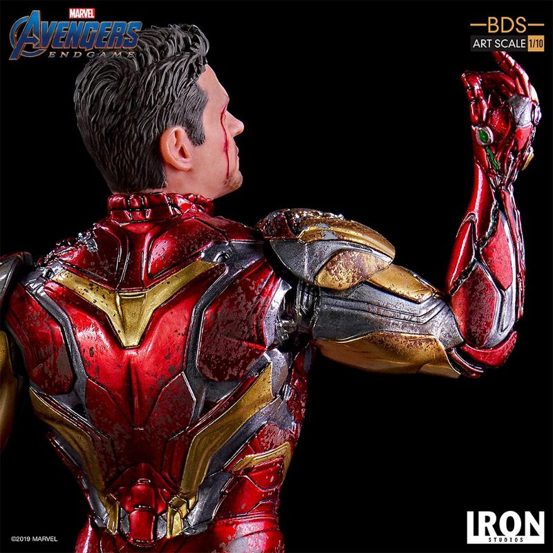 "IRON STUDIOS : Avengers: Endgame – ""I Am Iron Man"" 1/10 Scale Battle Diorama Statue Iron-s73"