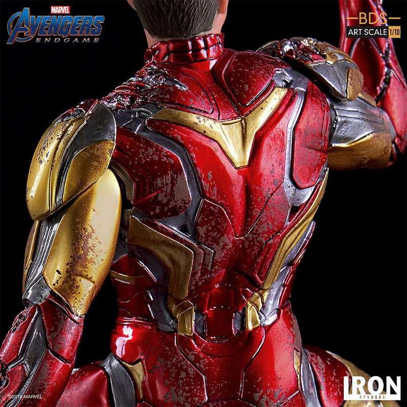 "IRON STUDIOS : Avengers: Endgame – ""I Am Iron Man"" 1/10 Scale Battle Diorama Statue Iron-s74"