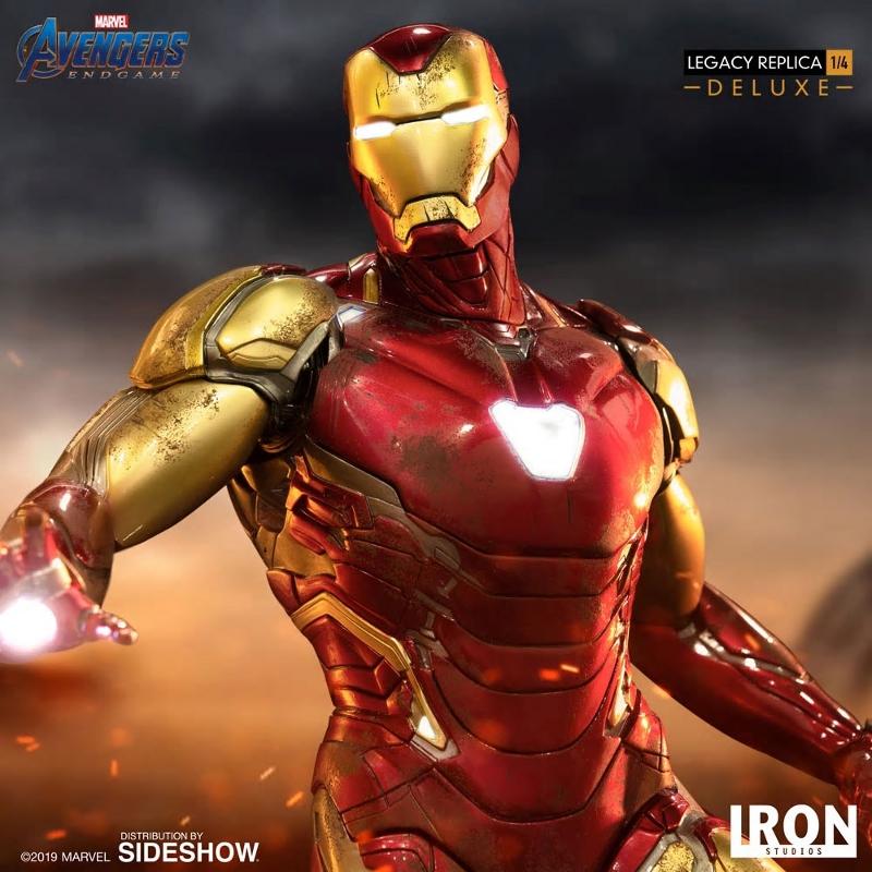 IRON STUDIOS : Avengers Endgame - Iron Man Mark LXXXV (Deluxe) 1/4 statue Ironma10