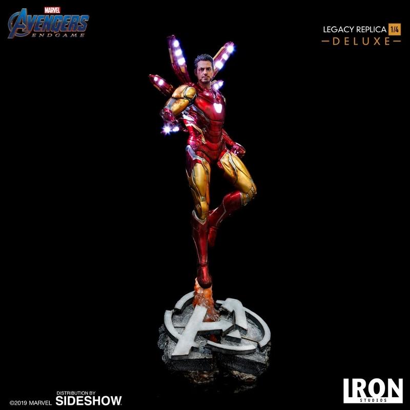 IRON STUDIOS : Avengers Endgame - Iron Man Mark LXXXV (Deluxe) 1/4 statue Ironma11