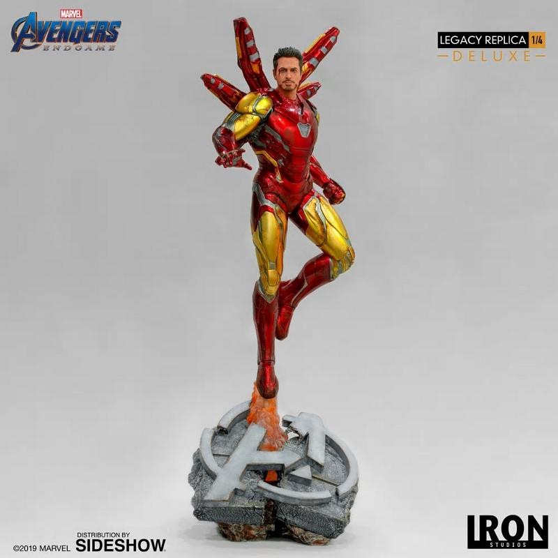 IRON STUDIOS : Avengers Endgame - Iron Man Mark LXXXV (Deluxe) 1/4 statue Ironma13