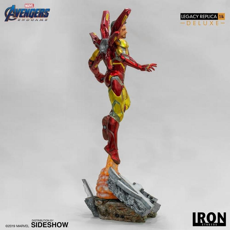 IRON STUDIOS : Avengers Endgame - Iron Man Mark LXXXV (Deluxe) 1/4 statue Ironma14