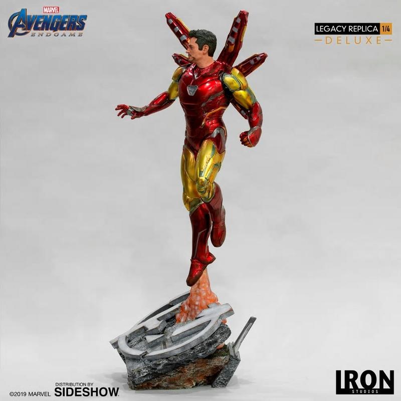 IRON STUDIOS : Avengers Endgame - Iron Man Mark LXXXV (Deluxe) 1/4 statue Ironma16