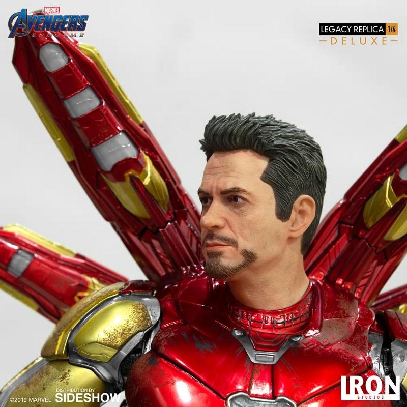 IRON STUDIOS : Avengers Endgame - Iron Man Mark LXXXV (Deluxe) 1/4 statue Ironma17