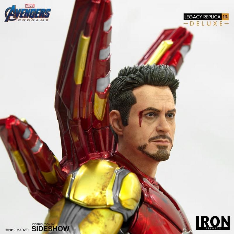 IRON STUDIOS : Avengers Endgame - Iron Man Mark LXXXV (Deluxe) 1/4 statue Ironma18