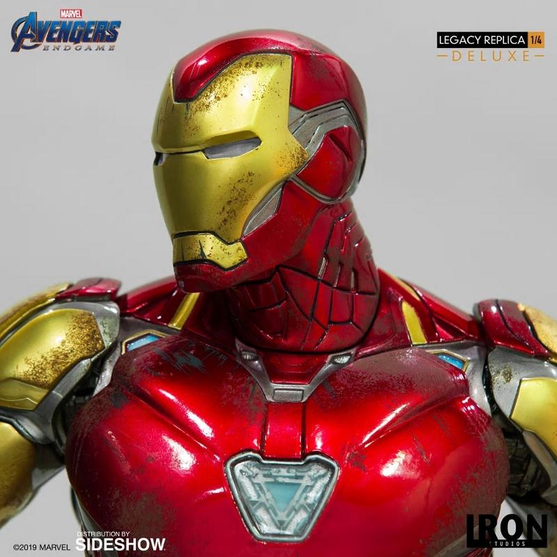 IRON STUDIOS : Avengers Endgame - Iron Man Mark LXXXV (Deluxe) 1/4 statue Ironma21