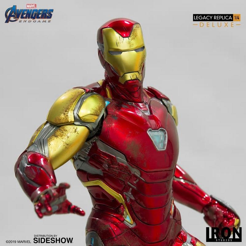 IRON STUDIOS : Avengers Endgame - Iron Man Mark LXXXV (Deluxe) 1/4 statue Ironma22