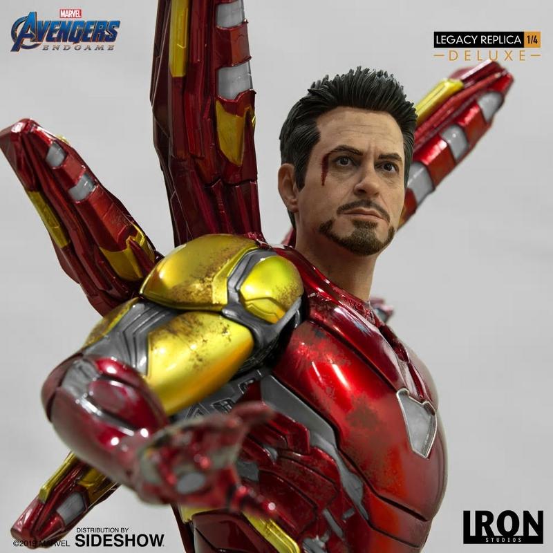 IRON STUDIOS : Avengers Endgame - Iron Man Mark LXXXV (Deluxe) 1/4 statue Ironma23