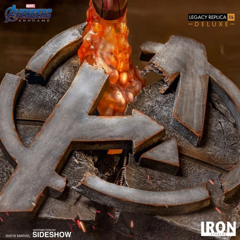 IRON STUDIOS : Avengers Endgame - Iron Man Mark LXXXV (Deluxe) 1/4 statue Ironma24