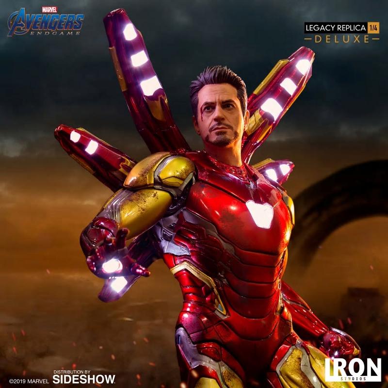IRON STUDIOS : Avengers Endgame - Iron Man Mark LXXXV (Deluxe) 1/4 statue Ironma25