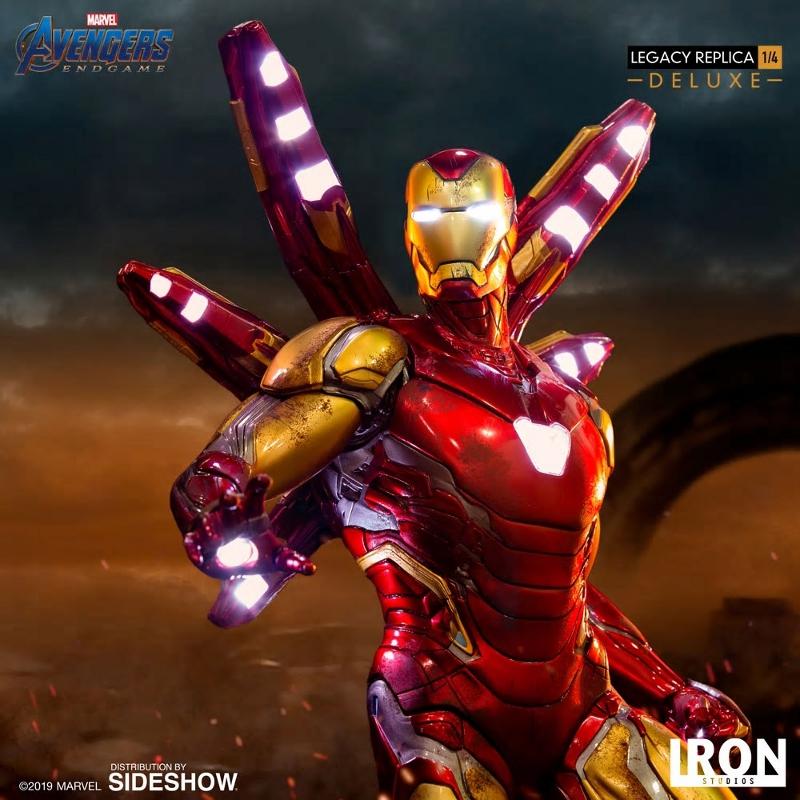 IRON STUDIOS : Avengers Endgame - Iron Man Mark LXXXV (Deluxe) 1/4 statue Ironma26