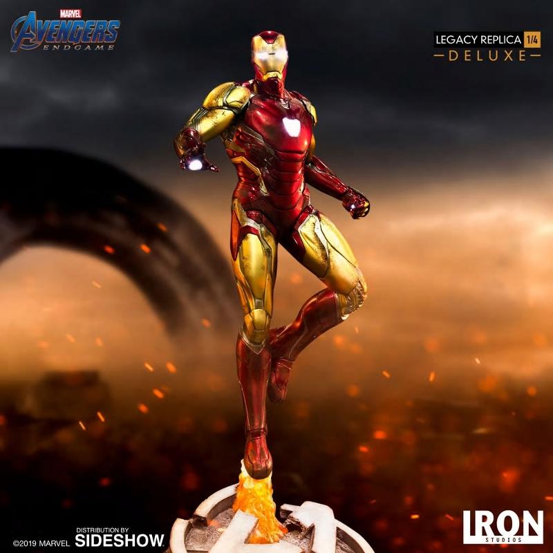 IRON STUDIOS : Avengers Endgame - Iron Man Mark LXXXV (Deluxe) 1/4 statue Ironma27
