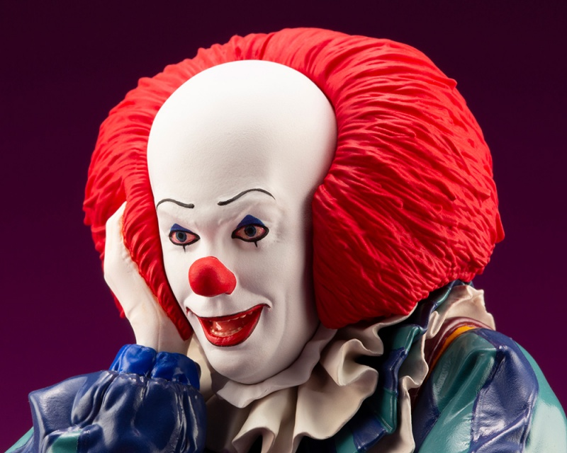 IT 1990 – DOKODEMO Series Pennywise ARTFX Statue It_19911