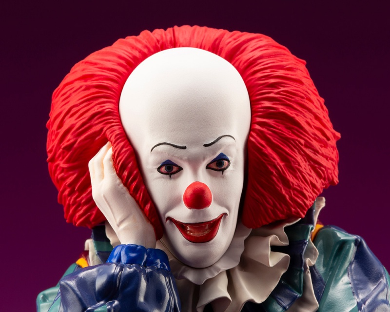 IT 1990 – DOKODEMO Series Pennywise ARTFX Statue It_19912