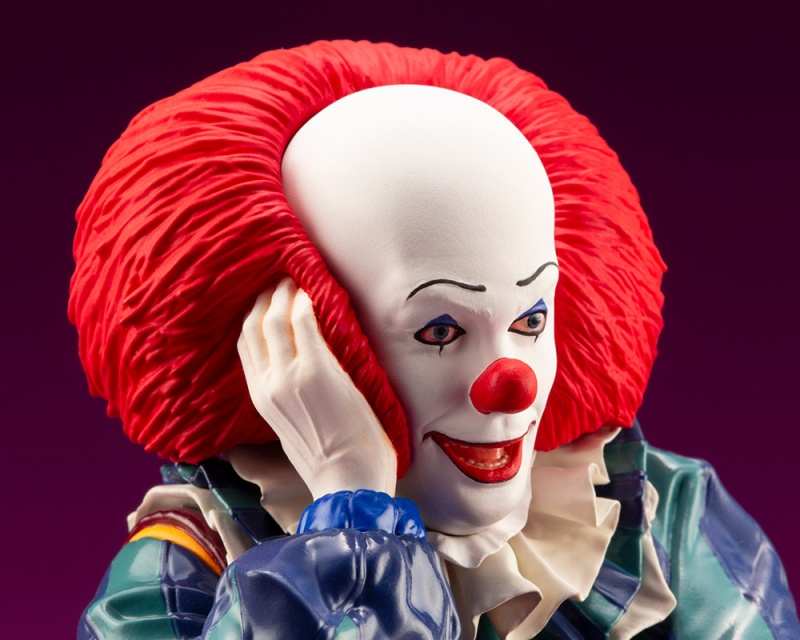 IT 1990 – DOKODEMO Series Pennywise ARTFX Statue It_19913