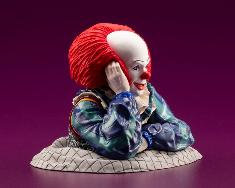 IT 1990 – DOKODEMO Series Pennywise ARTFX Statue It_19914