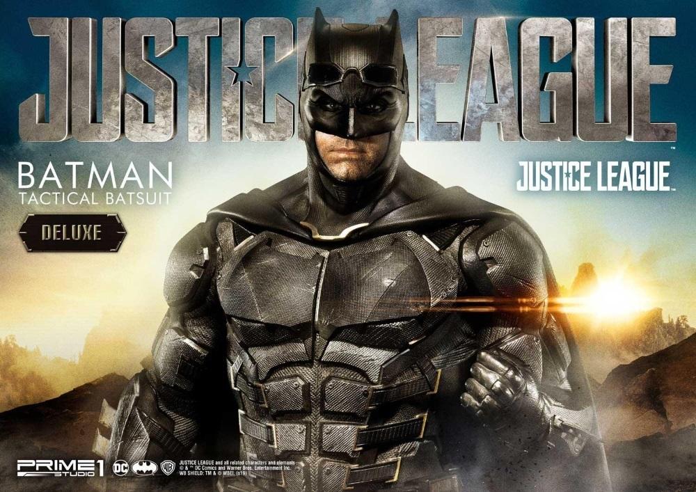 Justice League – Tactical Suit Batman 1/3 scale Statue Justic10