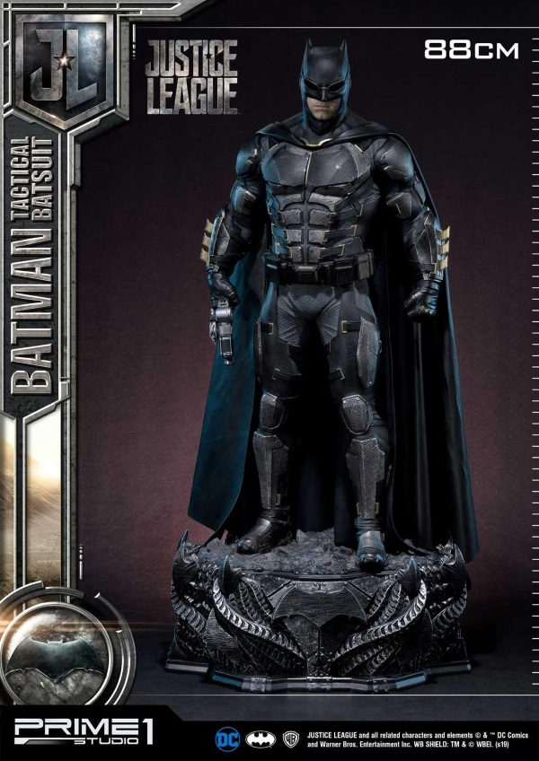 Justice League – Tactical Suit Batman 1/3 scale Statue Justic12
