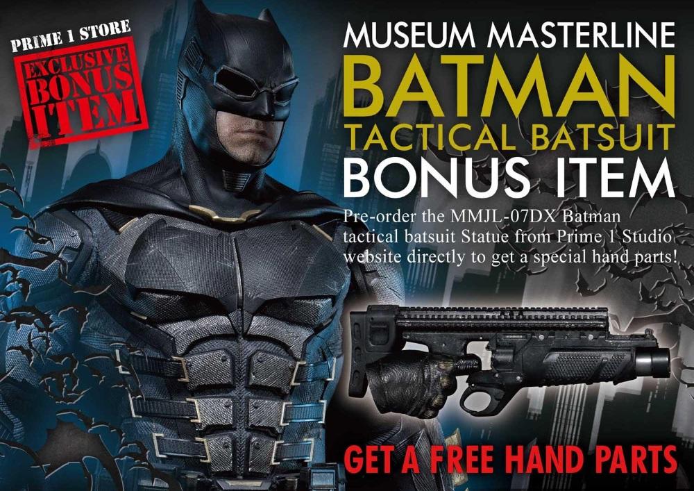 Justice League – Tactical Suit Batman 1/3 scale Statue Justic18