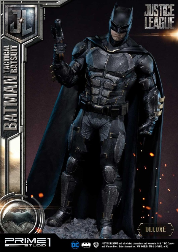 Justice League – Tactical Suit Batman 1/3 scale Statue Justic20