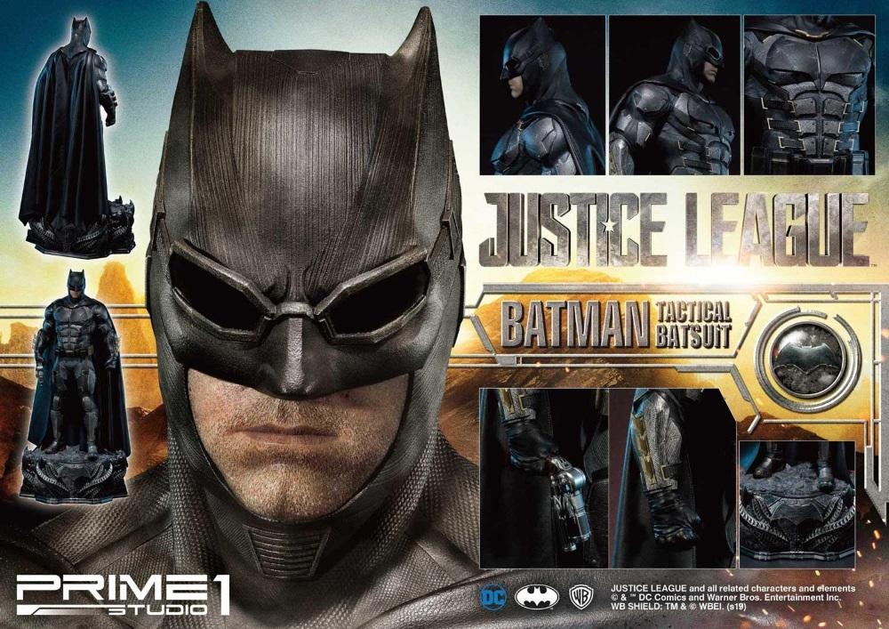 Justice League – Tactical Suit Batman 1/3 scale Statue Justic28