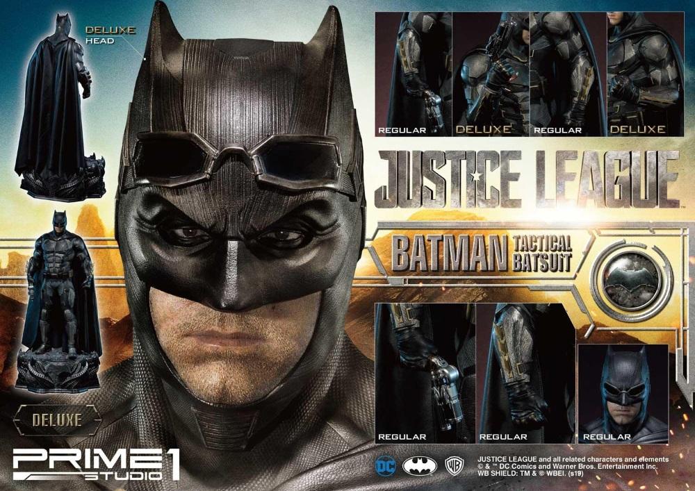Justice League – Tactical Suit Batman 1/3 scale Statue Justic29