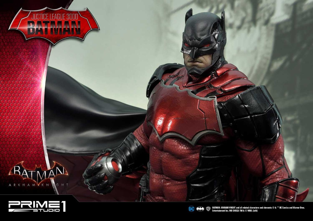 Batman: Arkham Knight – Justice League 3000 Batman 1/5 scale statue Justic35