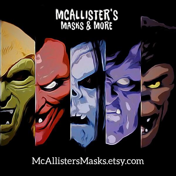 Mc Allisters Masks  Mcalli10