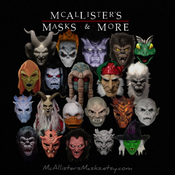 Mc Allisters Masks  Mcalli11