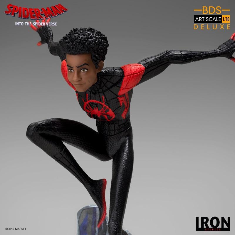 IRON STUDIOS : Spider-Man: Into The Spider-Verse – Miles Morales Spider-Man Statue Miles_15