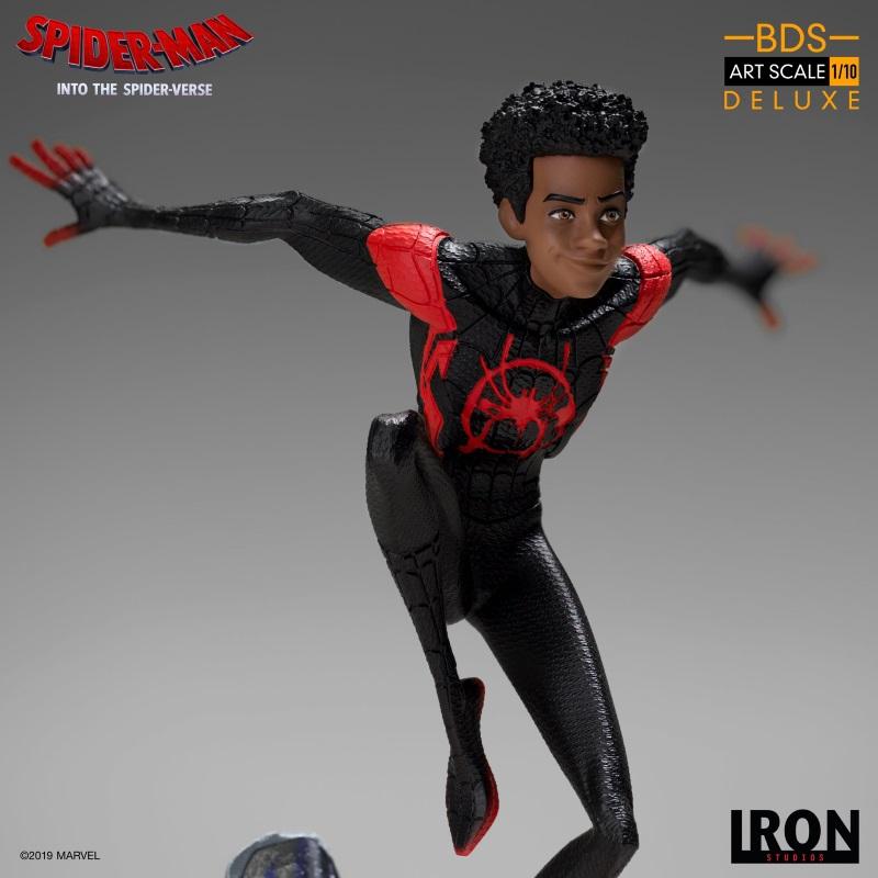 IRON STUDIOS : Spider-Man: Into The Spider-Verse – Miles Morales Spider-Man Statue Miles_19