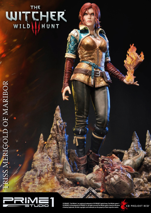 The Witcher 3 - Triss 1/4 Statue   Pmw3-010