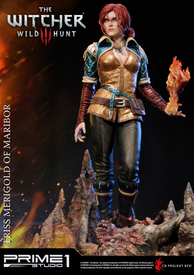 The Witcher 3 - Triss 1/4 Statue   Pmw3-011