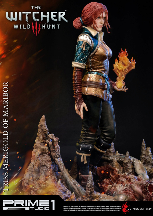 The Witcher 3 - Triss 1/4 Statue   Pmw3-012
