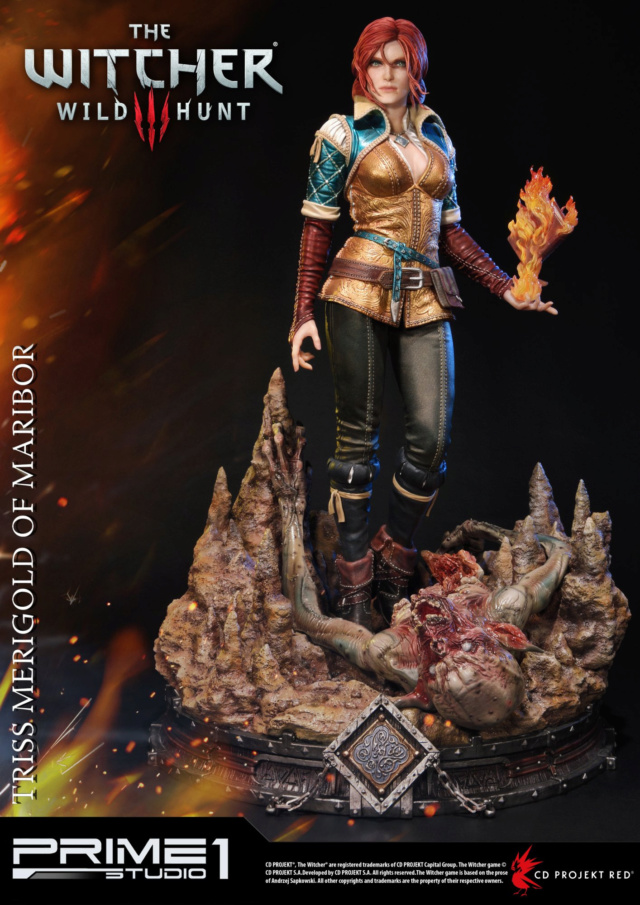 The Witcher 3 - Triss 1/4 Statue   Pmw3-013