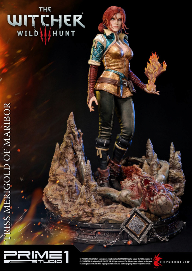 The Witcher 3 - Triss 1/4 Statue   Pmw3-014