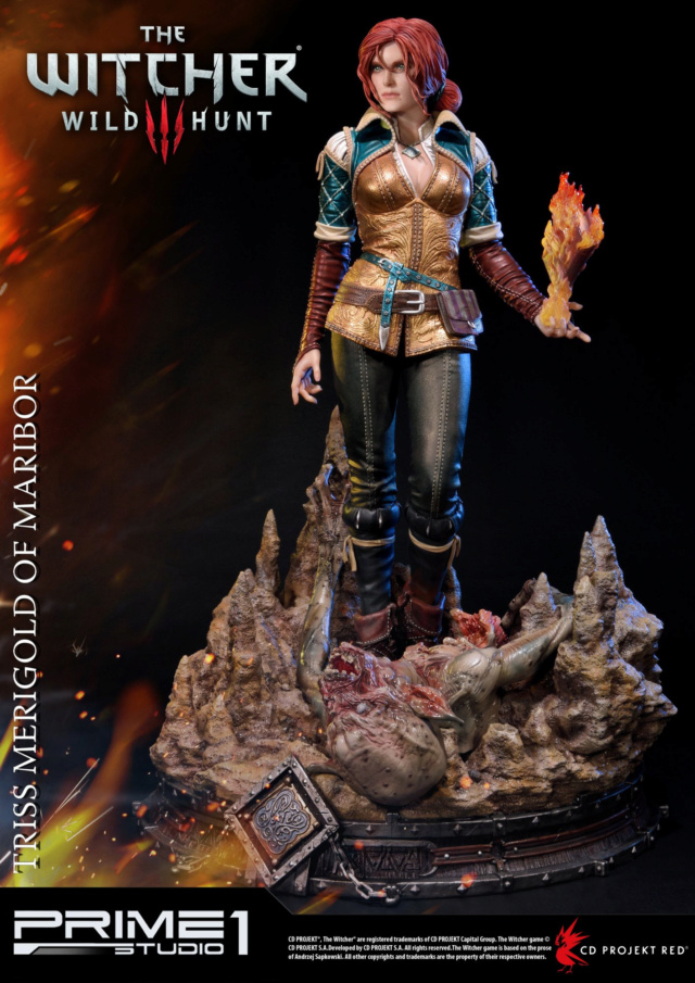 The Witcher 3 - Triss 1/4 Statue   Pmw3-015