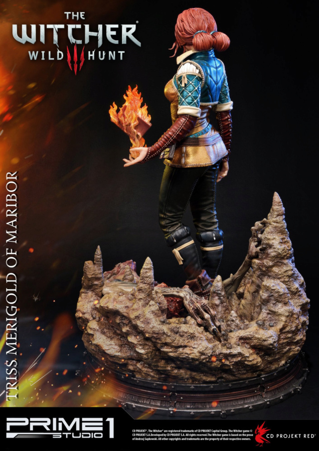 The Witcher 3 - Triss 1/4 Statue   Pmw3-016