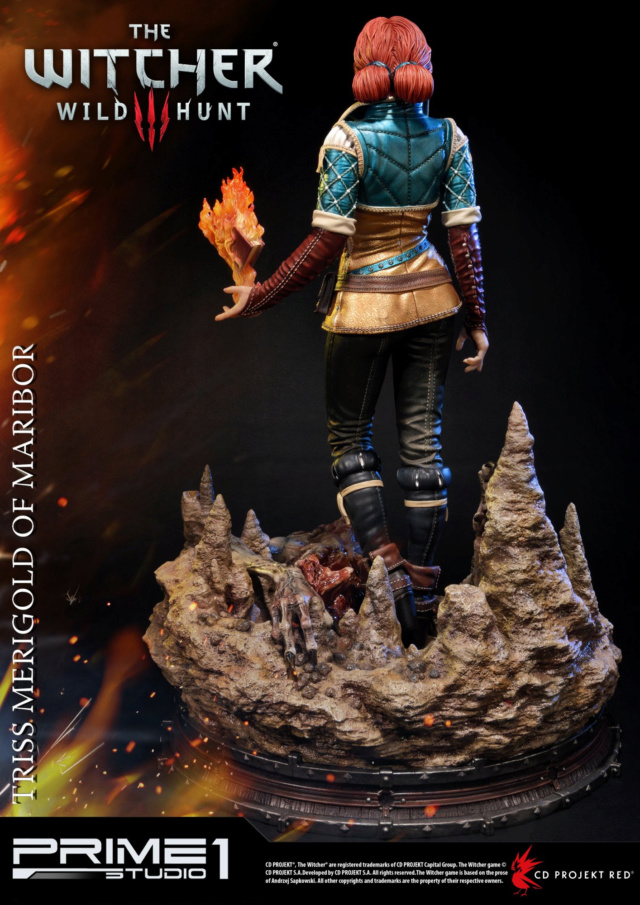 The Witcher 3 - Triss 1/4 Statue   Pmw3-017