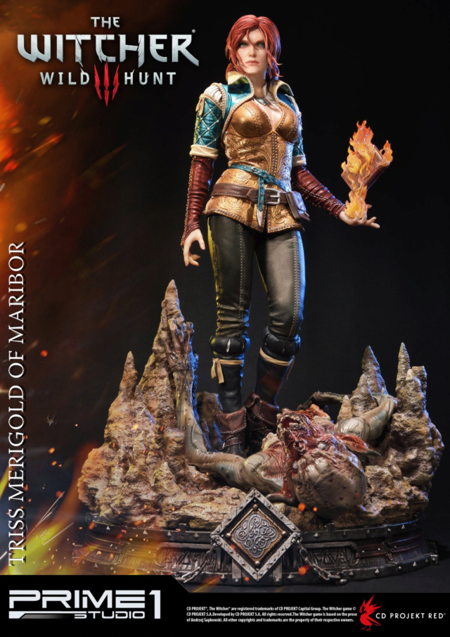 The Witcher 3 - Triss 1/4 Statue   Pmw3-018