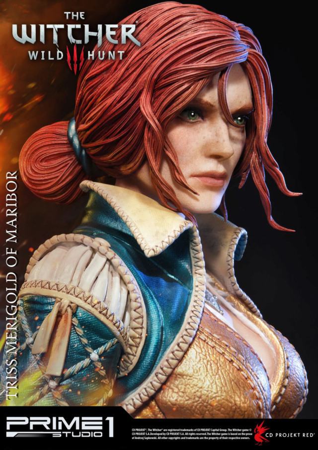 The Witcher 3 - Triss 1/4 Statue   Pmw3-019