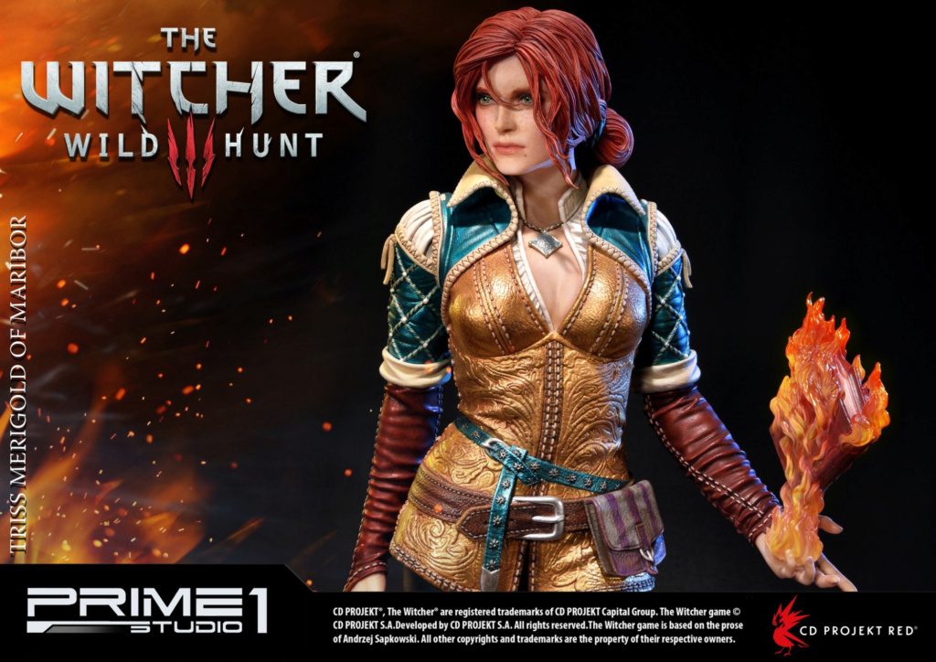 The Witcher 3 - Triss 1/4 Statue   Pmw3-021