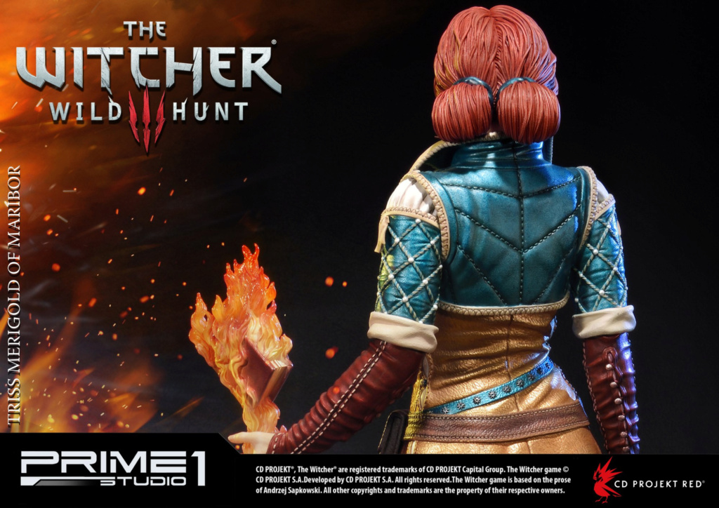 The Witcher 3 - Triss 1/4 Statue   Pmw3-022