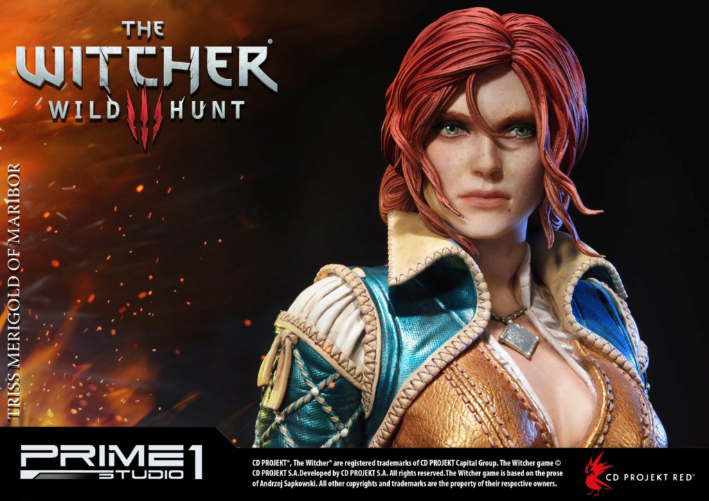 The Witcher 3 - Triss 1/4 Statue   Pmw3-023